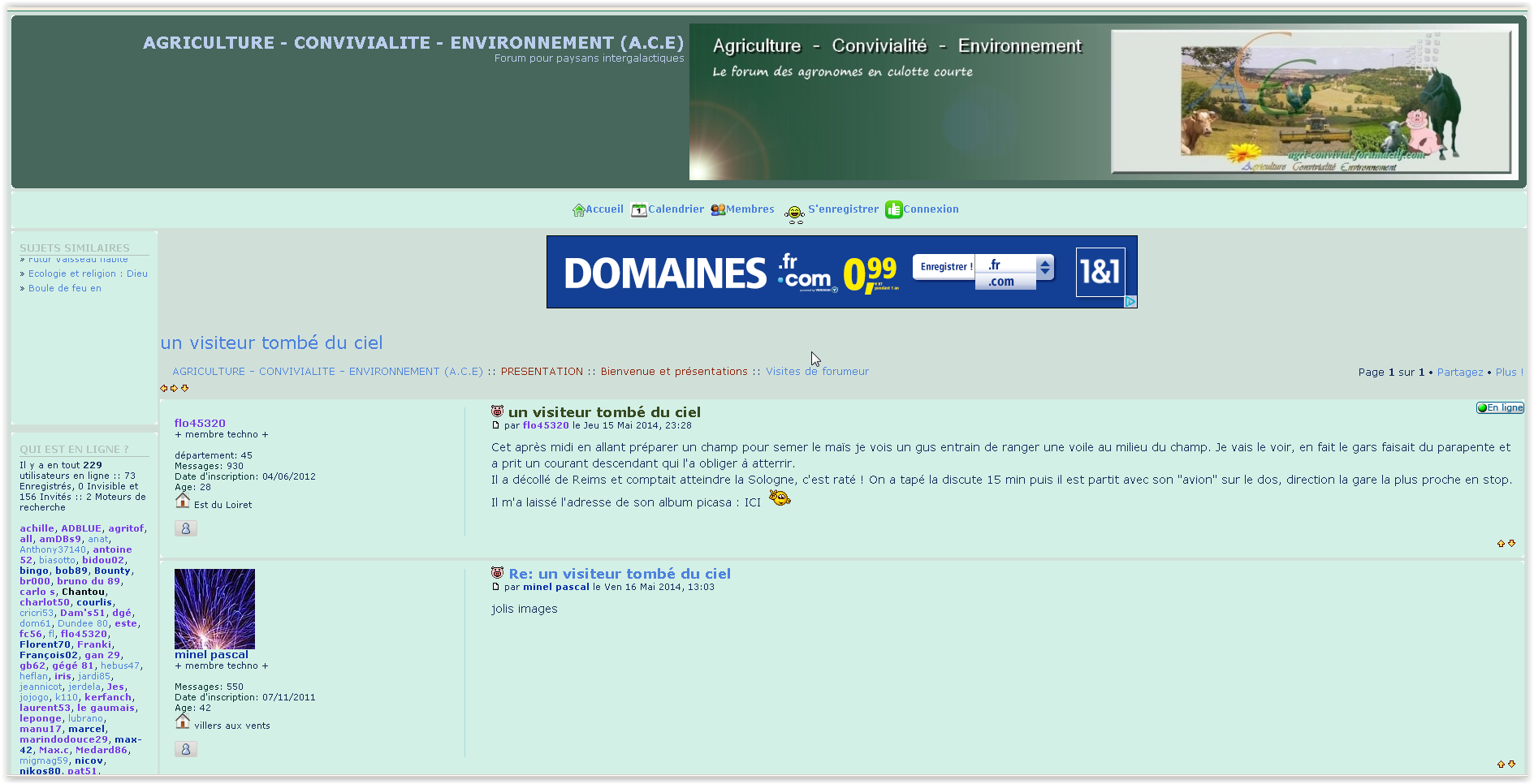 Forum www.agri-convivial.com/