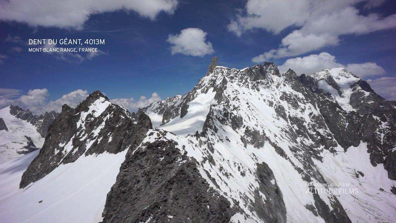 Survol du massif du mont blanc avec antoine boisselier for Massif avec cailloux blanc