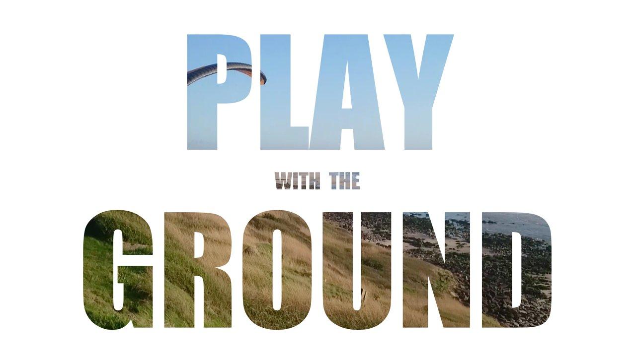 Voler en parapente au ras du sol un peu partout!
