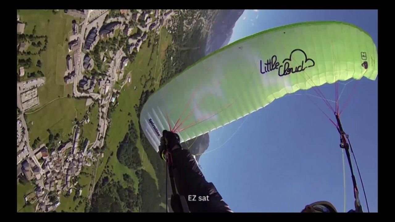 Tests en vol de la Spiruline EZ par Little Cloud