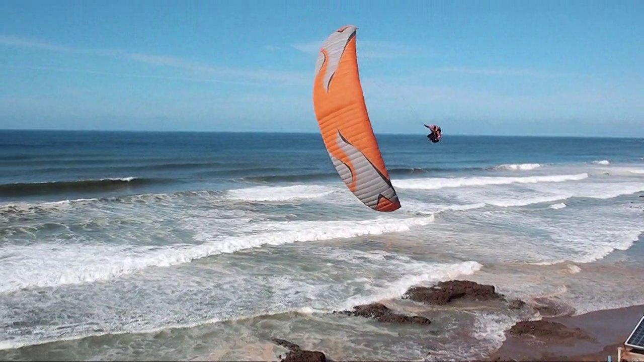 Le site à soaring à gogo à Aglou beach (Maroc)