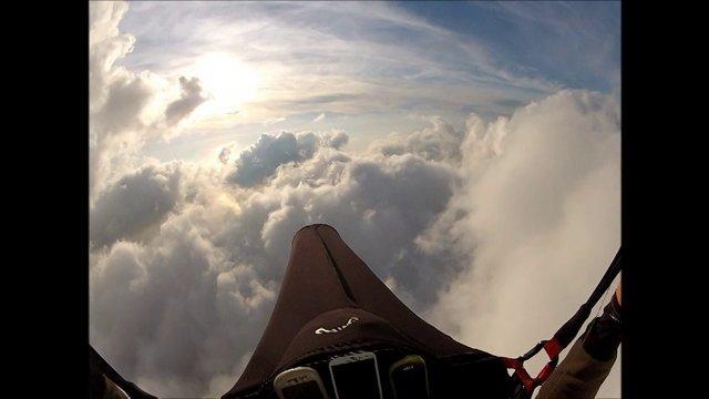 Vol au dessus des nuages à Oludeniz (Turquie)