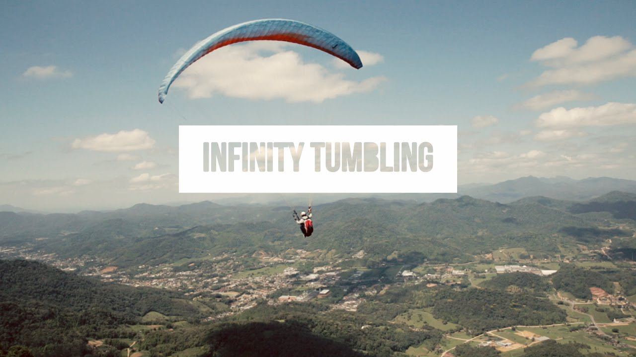 Infinity tandem tumbling avec le Team acro SOL Paragliders