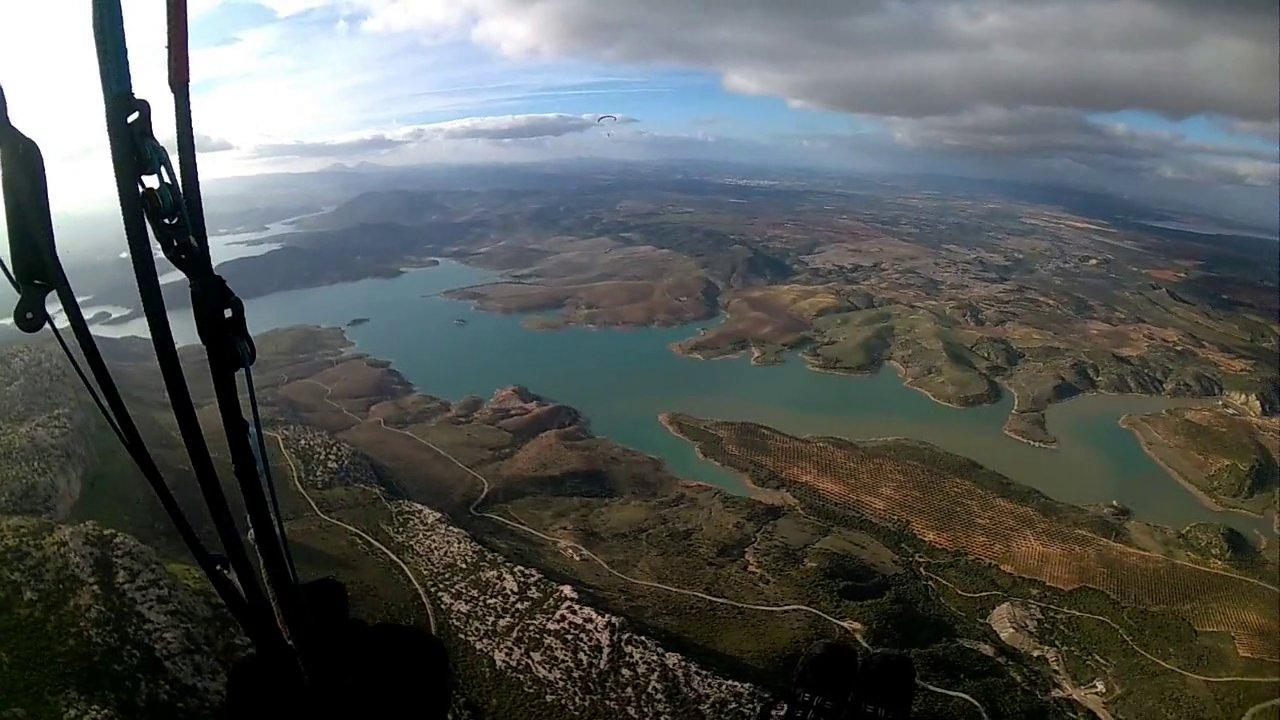 Vol site parapente Capilla Valle de Abdalajis (Espagne)