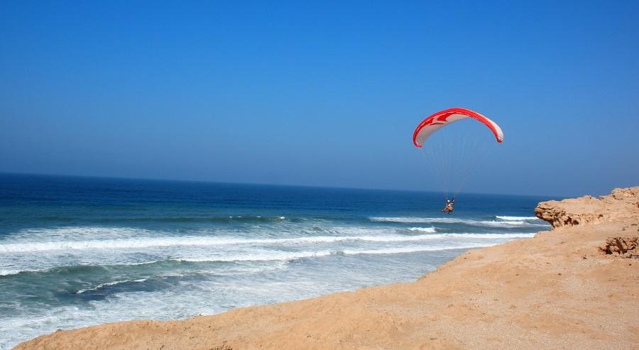 René à Aglou plage (Maroc)