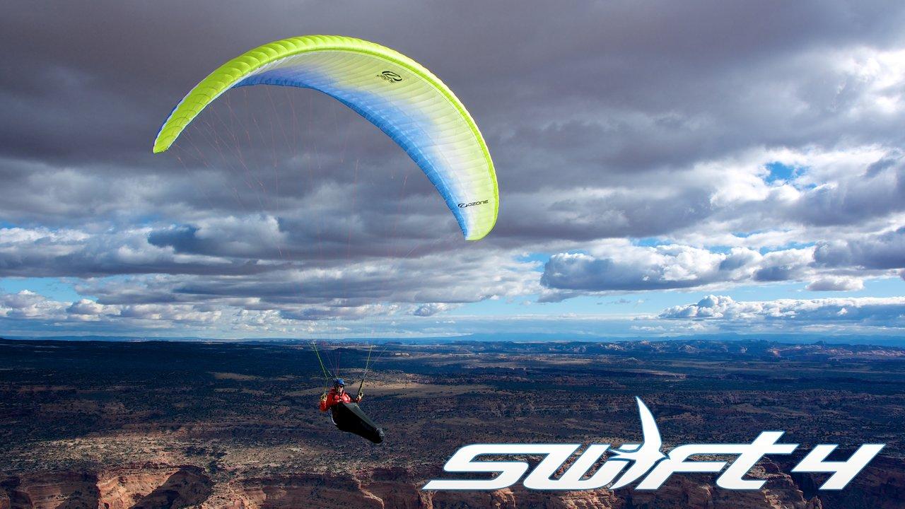Présentation de l'aile OZONE Swift 4 par OZONE