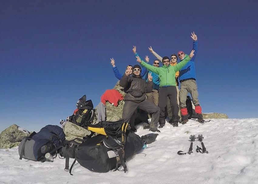 vol rando Mont Saint Valier