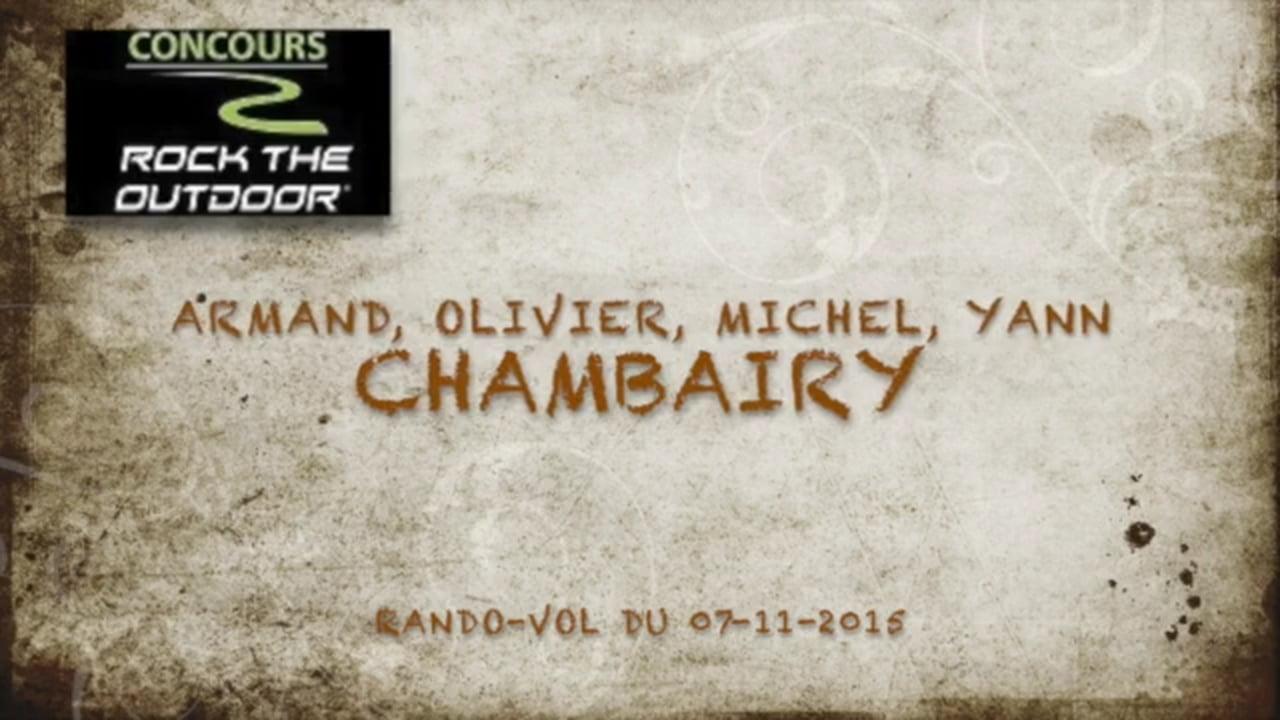 Marche et vol à la Chambairy avec Yann Boyer (Suisse)