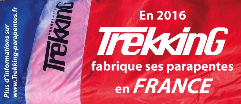 Trekking fabrique ses parapentes en france en 2016 - Televiseur fabrique en france ...