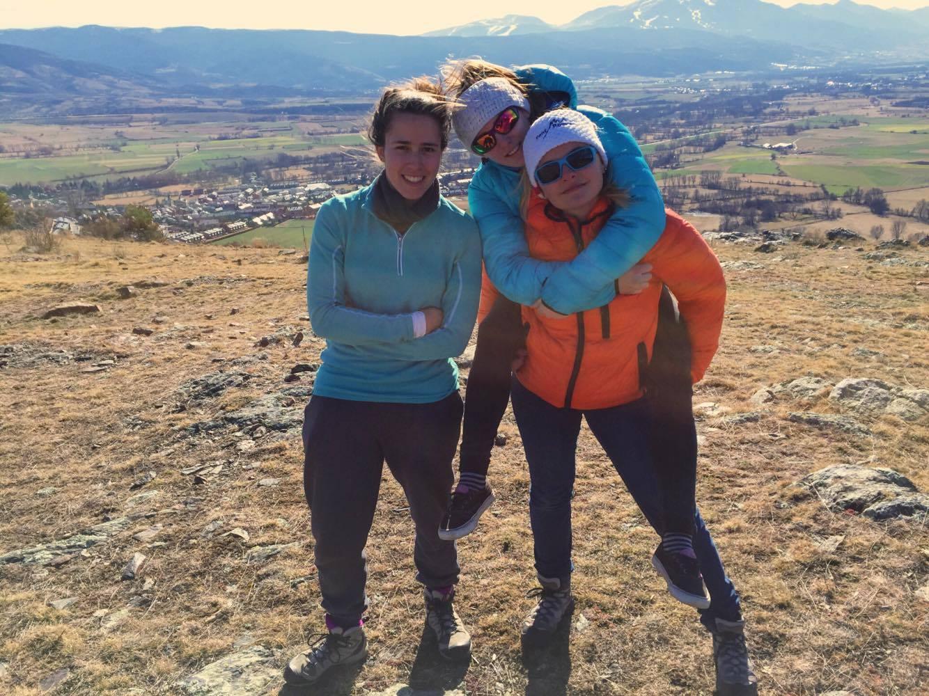 3 filles du Pôle Espoir