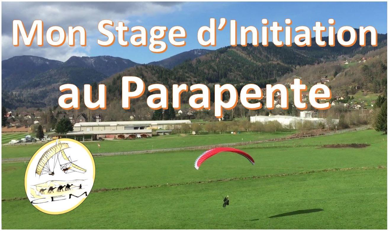Stage d'initiation parapente avec le Centre école du Markstein