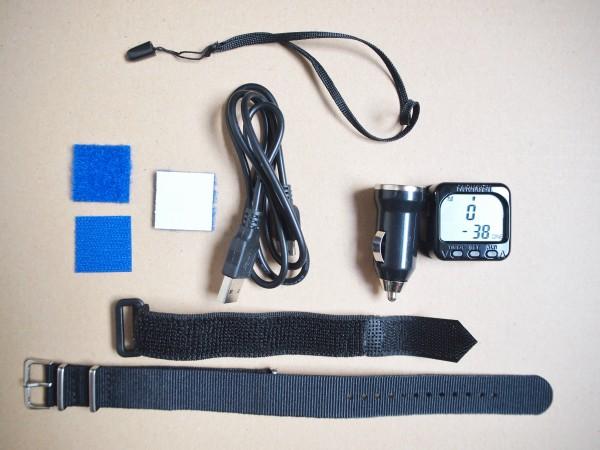 Kit complet vario parapente Micro Alti Plus sur élévateurs