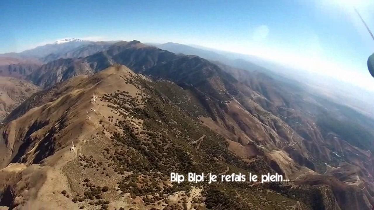 Cross à partir du site parapente Tiz'n Test (Maroc)