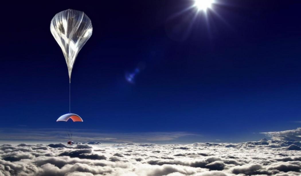 Le projet de voyage dans l'espace en ballon WORLD VIEW