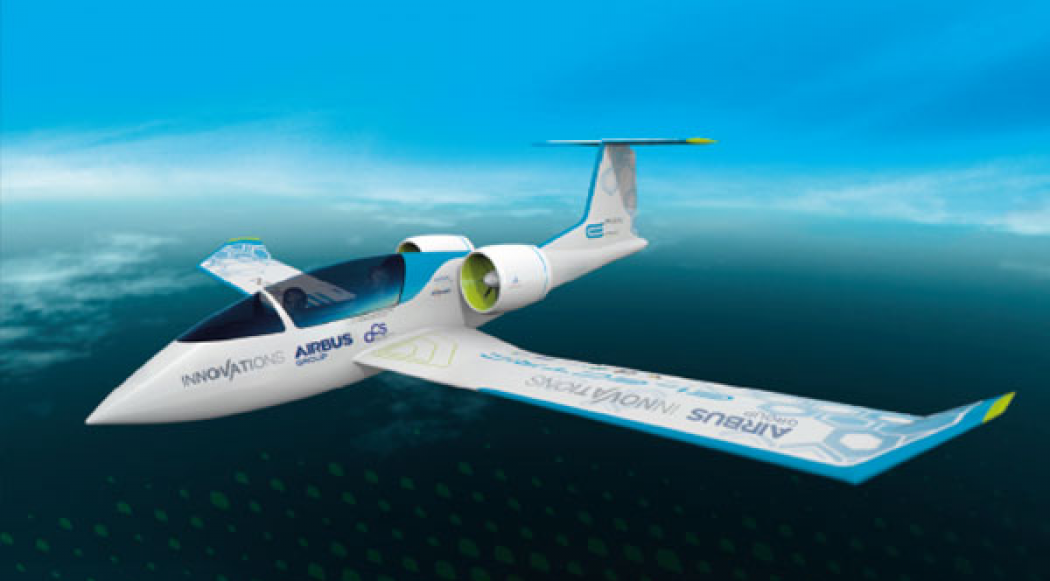 E-Fan, l'avion 100% électrique made in France