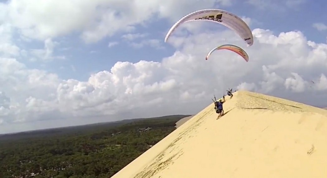 Bigs waggas à la dune du Pyla avec les meilleurs!