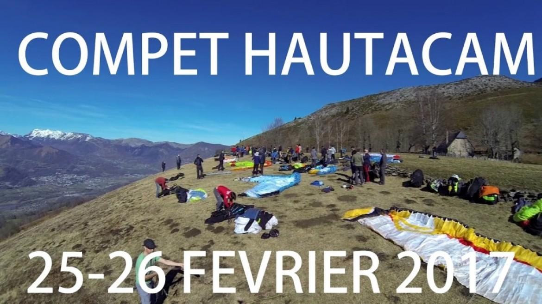 Compétition parapente du Hautacam du 25 et 26 février 2017