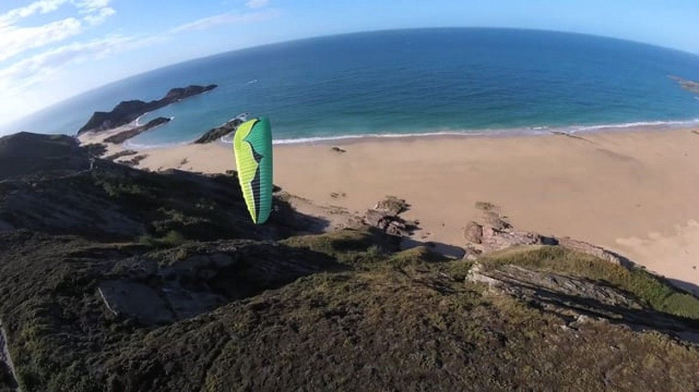 Le potentiel de vol en parapente dans les Côtes d'Armor