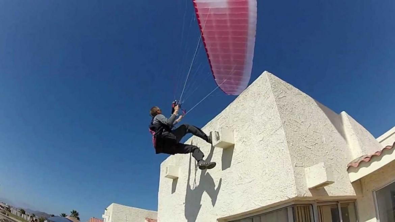Dell Buck Schanze, le pilote qui se déplace sur verticales