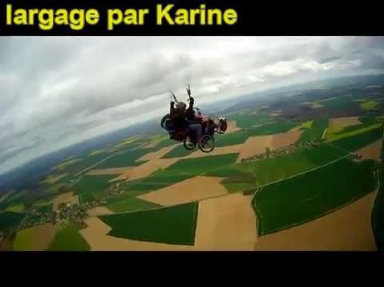 «Handiciel», les vols partagés avec Roland Wacogne