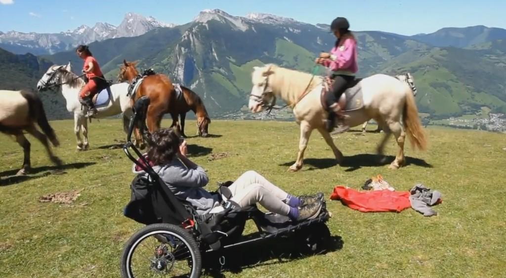 Equitation et parapente pour les handi-pilotes de l'école Han'vol