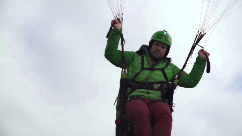 La minute parapente «Caprice des Dieux» avec Laurent Roudneff