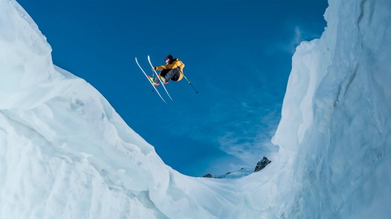 La technique déployée derrière une photo de ski extrême avec Tristan Shu