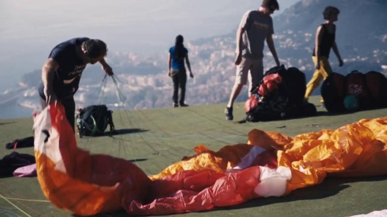 Championnat de France de voltige parapente en images