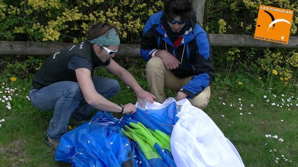conseils methode pliage pore parapente