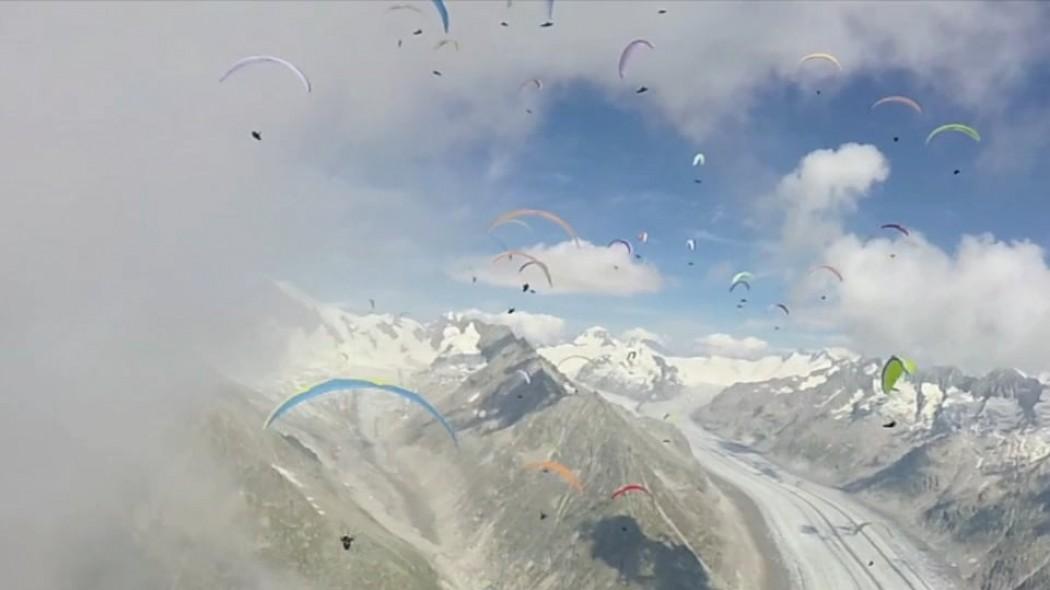 «Paragliding emotions» par la compétitrice Yael Margelisch