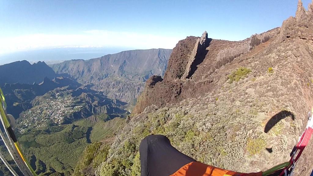 Vols bivouac à la Réunion avec Gaël Croix
