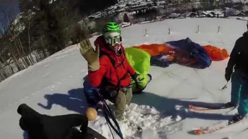Speed riding à Mont Joly avec Gaëtan Doligez (Haute Savoie)
