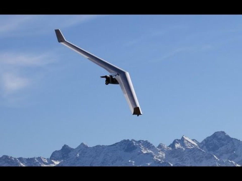 Survol des Alpes françaises avec le planeur Swift