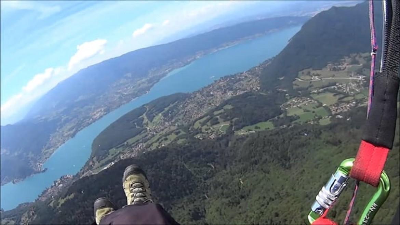Tuto du petit tour du lac d'Annecy en parapente par Vito