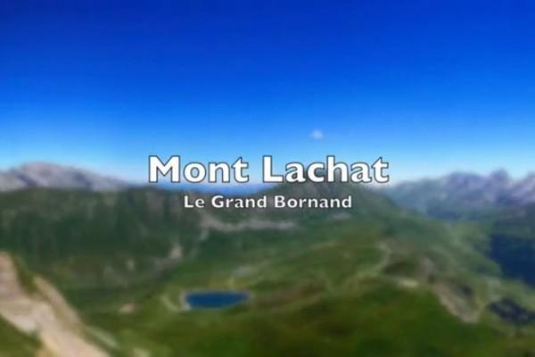 Vol sur le site parapente Le Grand Bornant (74)