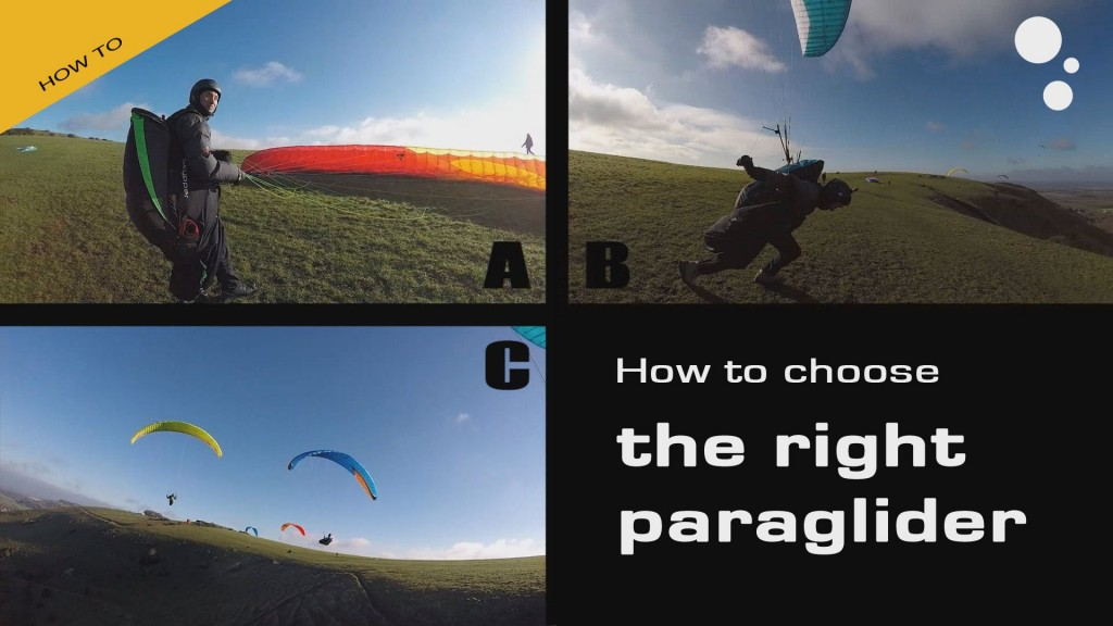 How to choose the right paraglider?