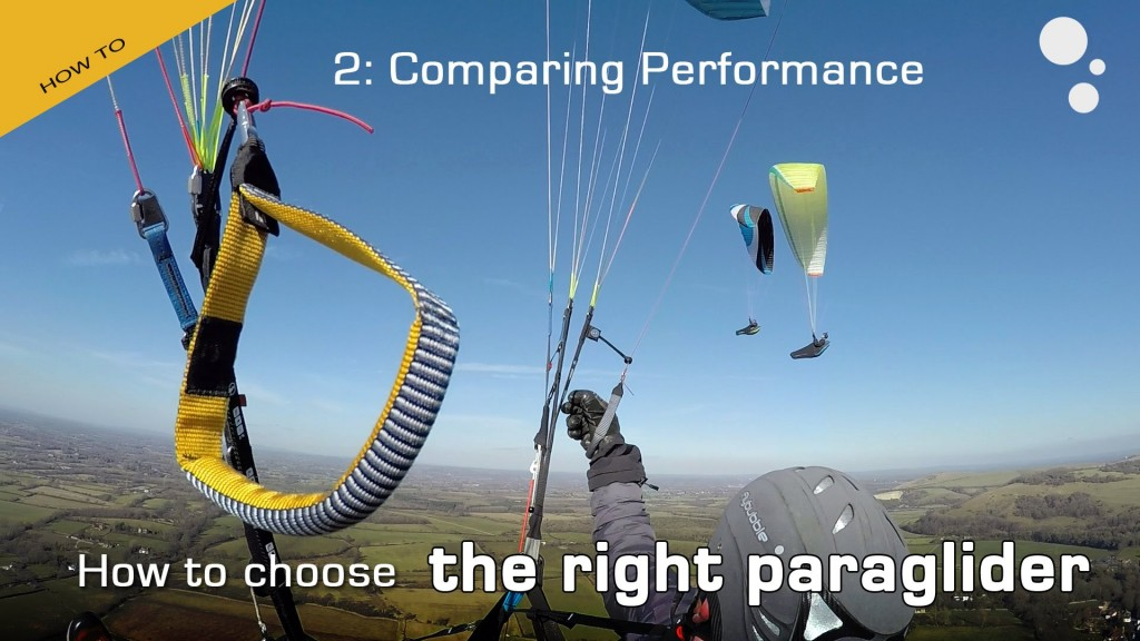 How to Choose the Right Paraglider – Part 2 by Flybubble