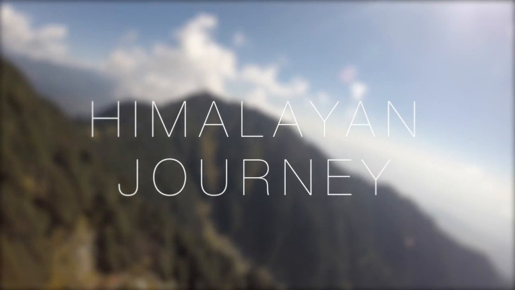 Joao Pedro Simonsen travels to the Indian Himalayas