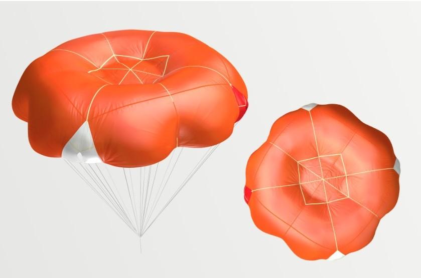 Companion SQR - the new generation reserve parachute