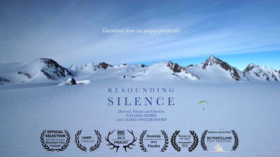 Resounding Silence – Paragliding in the Arctic