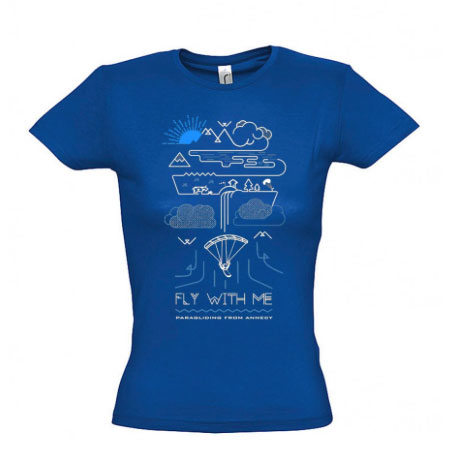 Fly With Me t-shirts for pilots