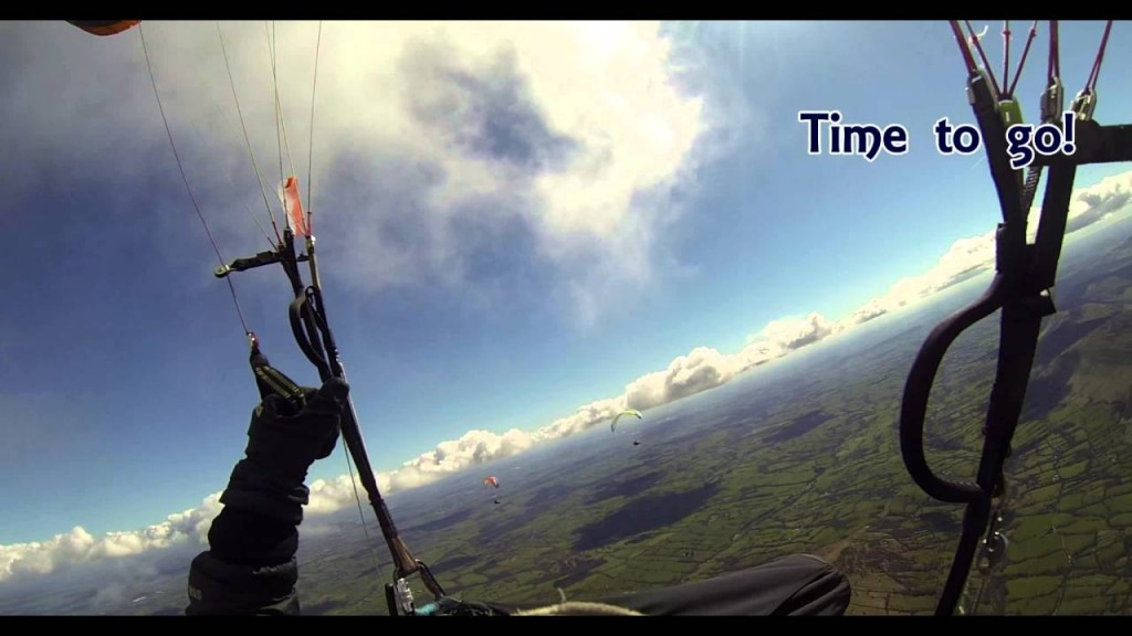 "UK XC paraglider pilot Vincent ""Baker Boy""  Talleu flies 142km from Wales"