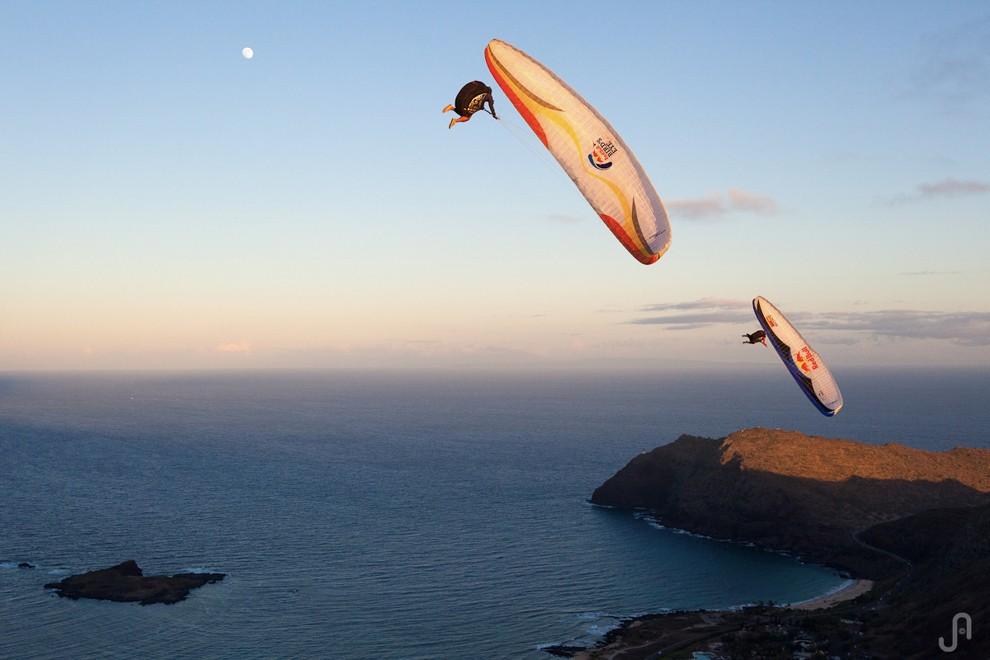 Jorge Atramiz, Specialist Paragliding Photographer