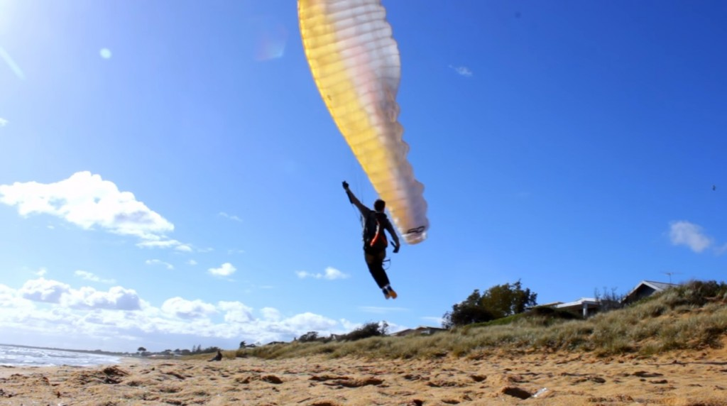 Geti flies only on small coastal sites but what a mastery!
