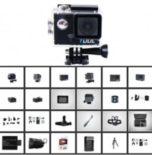 Caméras embarquées et accessoires