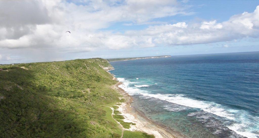 parapente Guadeloupe