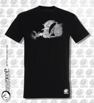 T-shirt parapente CIELUS NOIR H15
