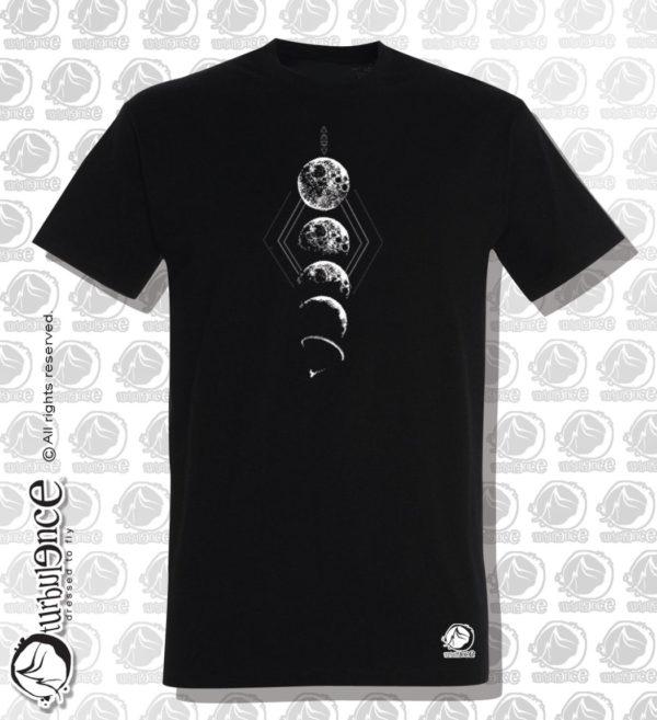 T-shirt parapente LUNA NOIR