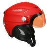 casque parapente charly loop rouge + visière