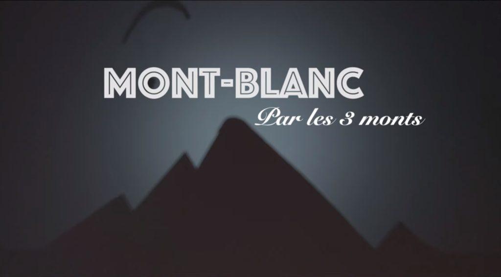 parapente Mont Blanc 3 Monts